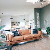 Renueva la decoración de tu salón este mes con las ofertas flash de Leroy Merlin: alfombras, muebles auxiliares, espejos y más