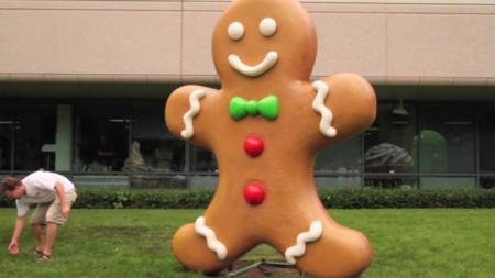 Gingerbread llega a Googleplex, imagen de la semana