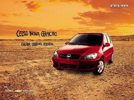 Los coches más vendidos en Brasil en 2008