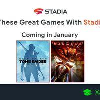 Juegos gratis de Stadia en enero 2020 para Stadia Pro