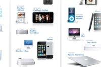Evolución de los productos de Apple en los últimos 10 años