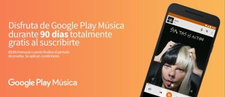 Chromecast Google Play Música