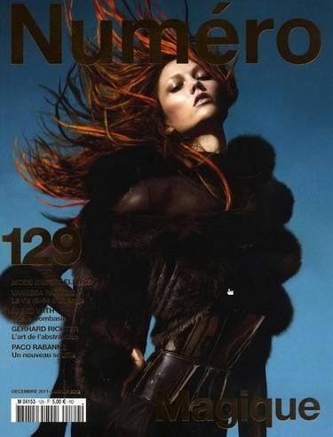 El triunfo de las pieles en la nueva portada de Numéro con Karlie Kloss