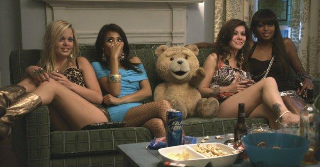 Imagen del oso protagonista de la película 'Ted'