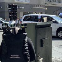 Apple Maps está recogiendo datos directamente a pie, probablemente para mejorar áreas peatonales
