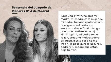 """La sentencia judicial que demuestra que Rocío Flores agredió e insultó a su madre Rocío Carrasco: """"Puta, tengo ganas de partirte la cara"""""""