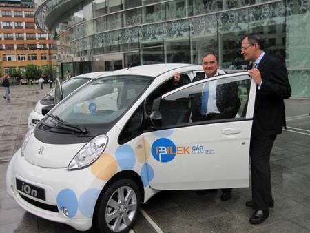 Vizcaya ya tiene servicio público para el alquiler de coches eléctricos