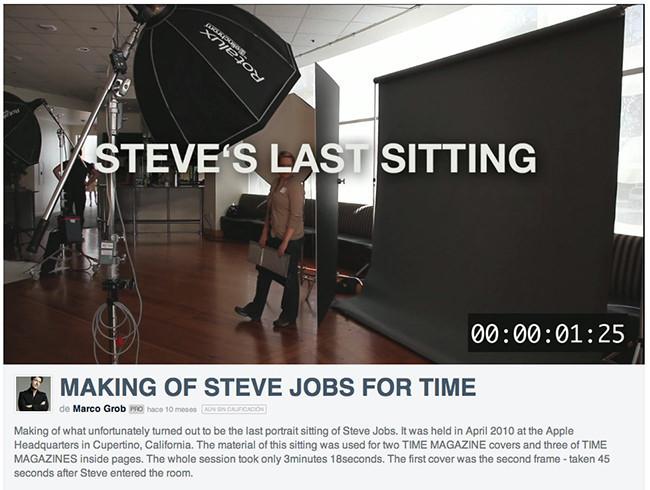 Steve sesion fotos time