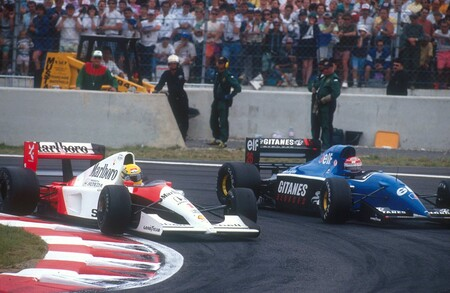 Senna Comas Magnycours F1 1992