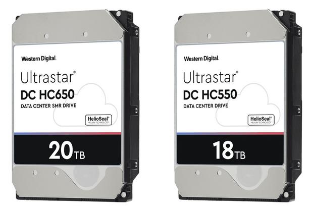 Western Digital prepara discos duros con capacidades brutales de 18 y 20 TB para 2020