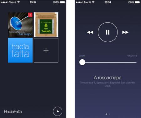 Network, ningún cliente de podcasts para iOS 7 es tan sencillo