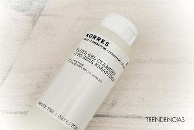 Probamos el Gel Limpiador con Té blanco de Korres, un buen limpiador sin jabón