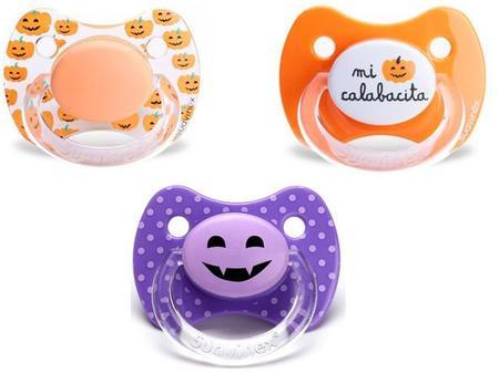 Divertidos chupetes de Halloween para tu bebé