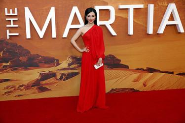 El estreno de The Martian en Londres dejó una alfombra roja donde se vio de todo