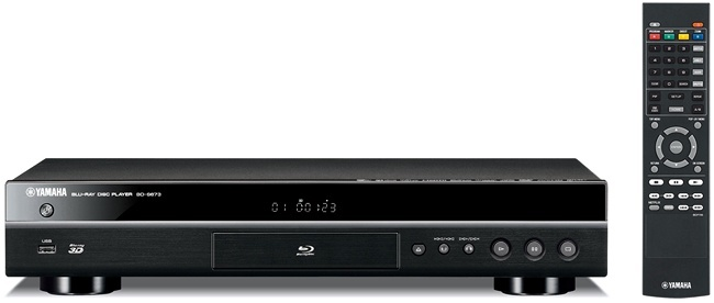 Yamaha Blu-ray player