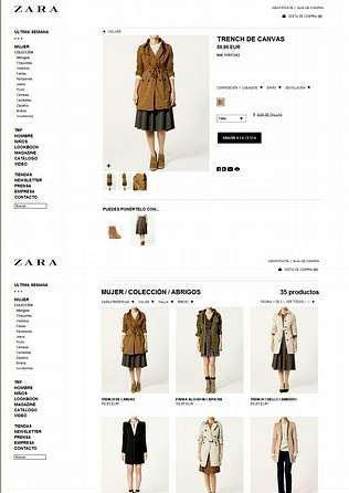 La tienda online de Zara abre sus puertas el 2 de septiembre