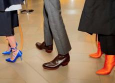 Ya están aquí, los zapatos más deseados fruto de la alianza de Vetements y Manolo Blahnik exclusivos en Net a Porter