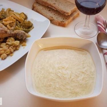 Sopa y puchero, receta tradicional ibicenca