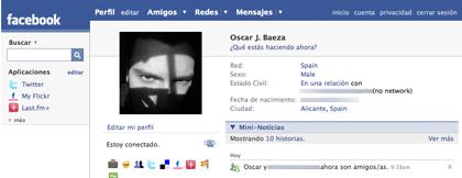 Facebook ya está en español