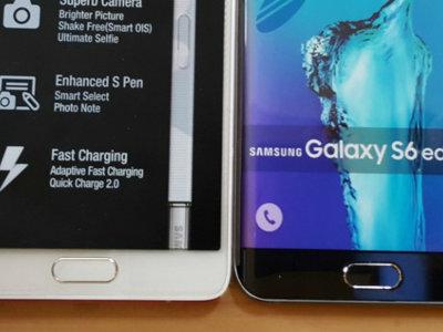Una nueva foto filtrada añade más leña a los rumores de un Samsung Galaxy S6 Edge+