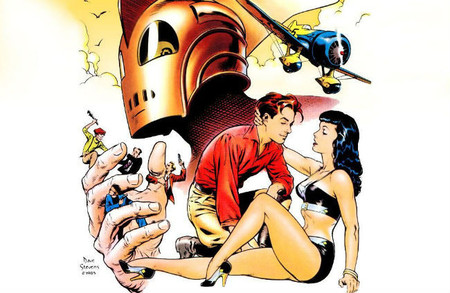 Rocketeer comic