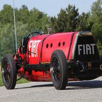 Este es el Fiat Mefistofele, un diablo nacido en 1924 con 350 CV y que atesora dos récord mundiales de velocidad