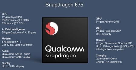 Características del Snapdragon 675