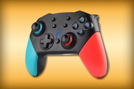 Control inalámbrico para Nintendo Switch con vibración, giroscopio y batería por tan solo 299 pesos en Amazon México