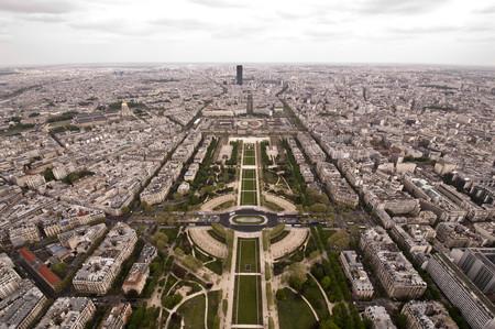 Lo alto de la Torre Eiffel