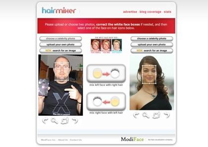 HairMixer, mezclando rostros con resultados que podrán ser hasta divertidos