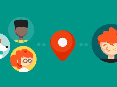 Contactos de confianza se integra con Google Maps, la ubicación compartida aparecerá en las dos aplicaciones