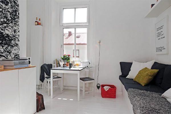 Foto de Una casa de 17 metros cuadrados en Suecia (6/14)