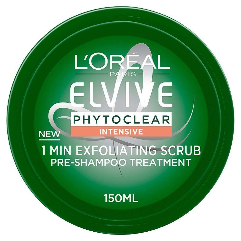 Tratamiento exfoliante pre-lavado de un minuto de Elvive de L'Oréal
