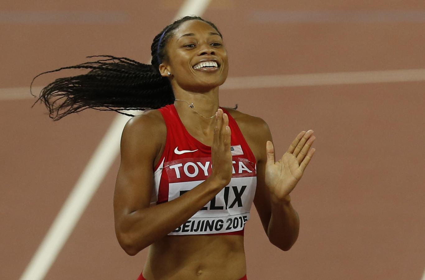 Allyson Felix ha roto el récord de Usain Bolt (y lo ha hecho 10 meses después de dar a luz)