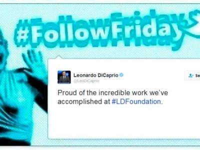 #FollowFriday de Poprosa: Cuando Leonardo Dicaprio organiza una fiesta a la que no falta nadie, ¡ni las redes sociales!