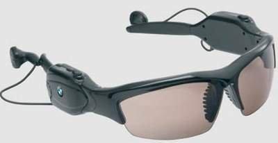Gafas de sol BMW con MP3