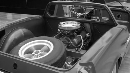 Ford Mustang motor central misterioso desconocido