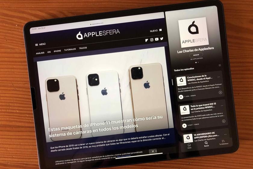 Spotify añade Split View y Slide Over al iPad tras tres años de espera