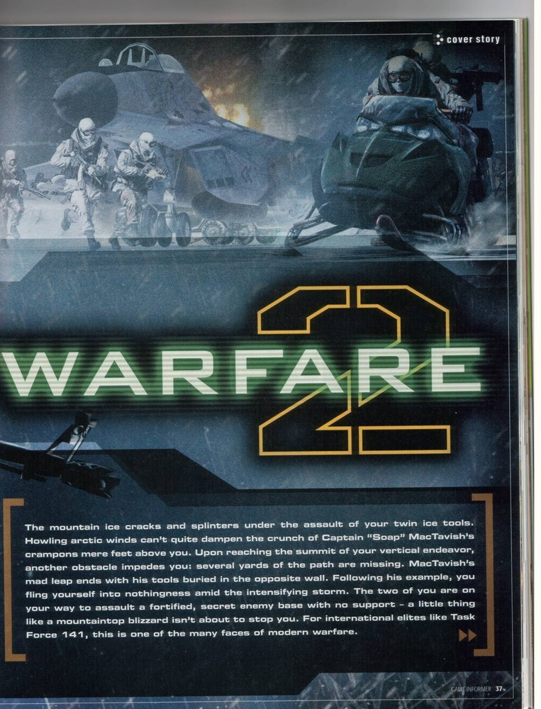 Foto de 'Modern Warfare 2' Scans Game Informer (2/10)