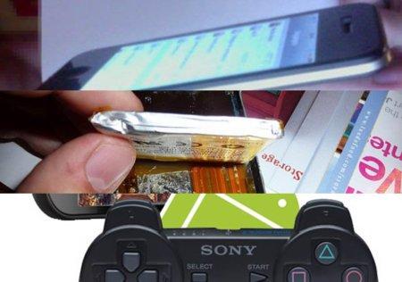 Los rumores del iPhone 5, el uso de Sixaxis de PS3 con Android y los misterios de las baterías. Galaxia XatakaMovil