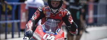 El día de la marmota de Ducati: Andrea Dovizioso se ha puesto en modo campeón tras anunciar su marcha