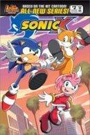 Sonic en las tiendas... de cómics