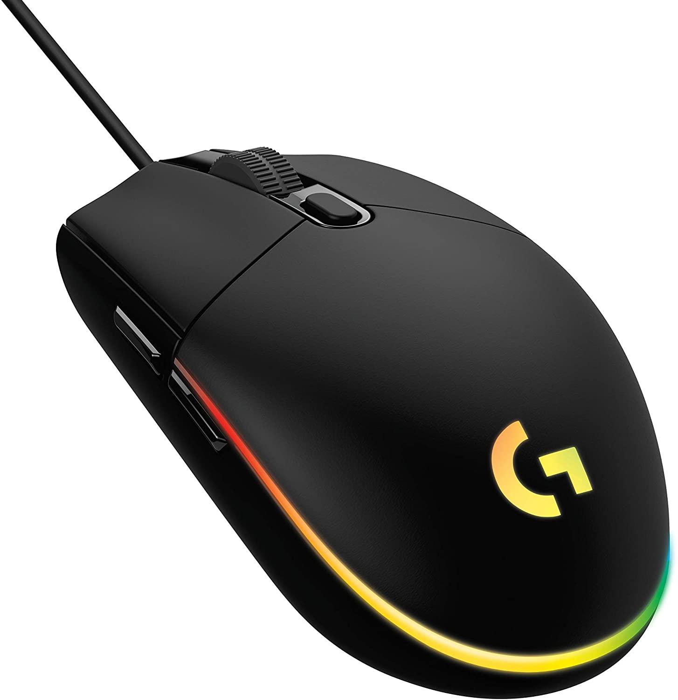 Logitech G203 Lightsync Mouse - Negro