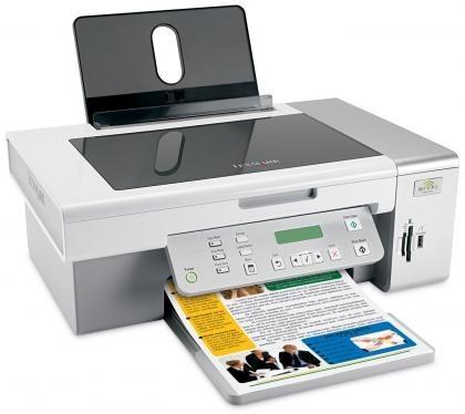 Nuevas impresoras con WiFi de Lexmark: X3550, X4550 y Z1420