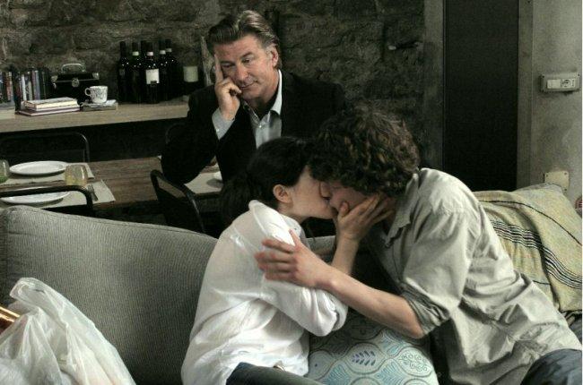 Alec Baldwin, Ellen Page y Jesse Eisenberg en una de las historias de A Roma Con Amor