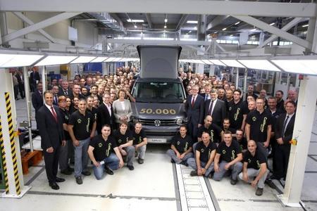 Volkswagen T5 California: 50.000 unidades de un icono