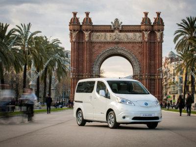 Nissan e-NV200, ahora con 7 plazas y se fabrica en Barcelona