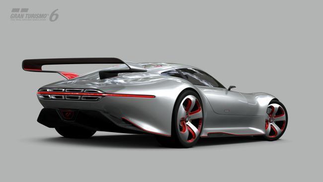 Así luce el exclusivo Mercedes-Benz AMG Vision Gran Turismo