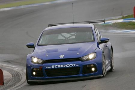 El Volkswagen Scirocco de Carlos Sainz, listo para las 24 horas de Nürburgring