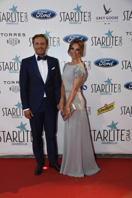 2016 08 06 Juan Pena Y Sonia Gonzalez Starlite Gala Foto Carlos Vela